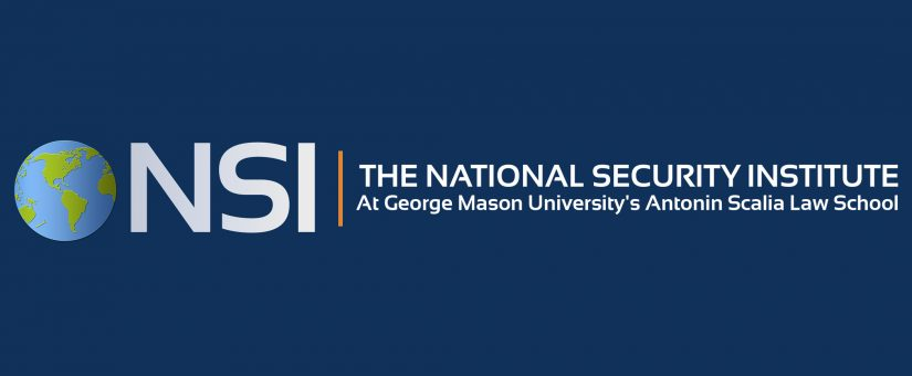 GMU National Security Institute on China's National Security law for Hong Kong