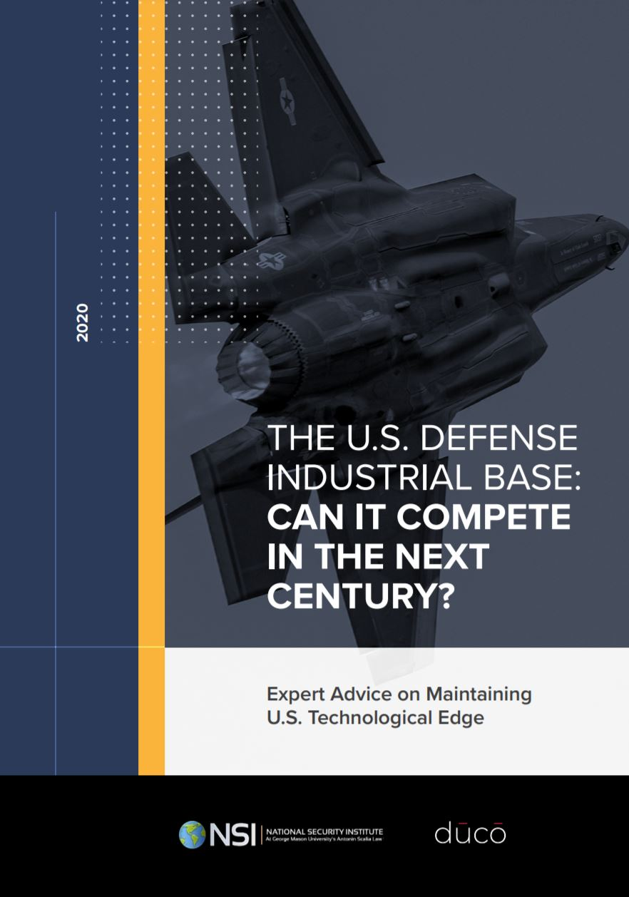 Lexpat Co-Founders Contribute to Key U.S. Defense Industrial Base Report
